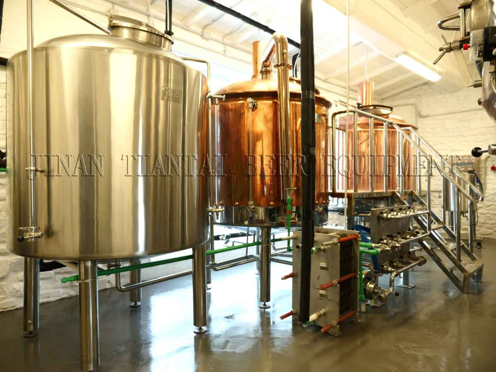 <b>10HL 2-vessels Brewhouse</b>
