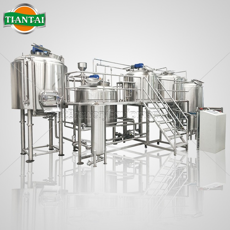 <b>7BBL 4-vessels Brewhouse</b>