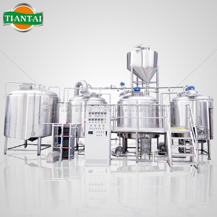 <b>18BBL 4-vessels Brewhouse</b>