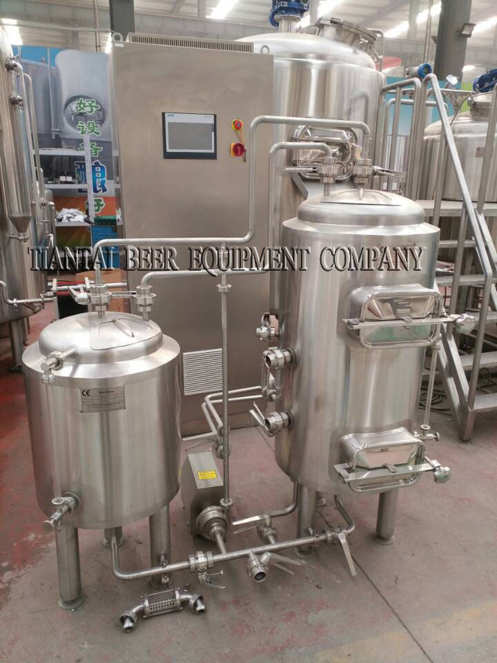 <b>1BBL 2-vessels Brewhouse</b>
