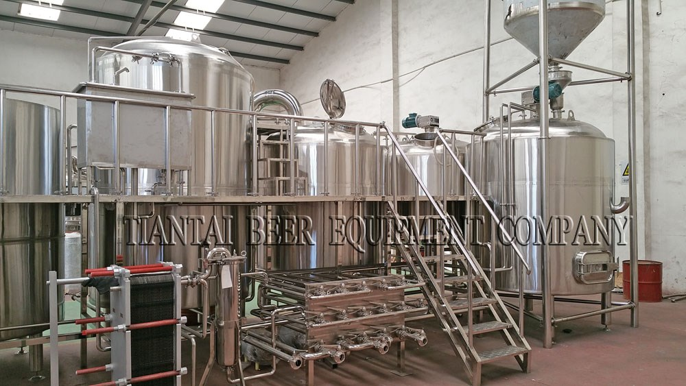 25HL 4-vessels Brewhouse