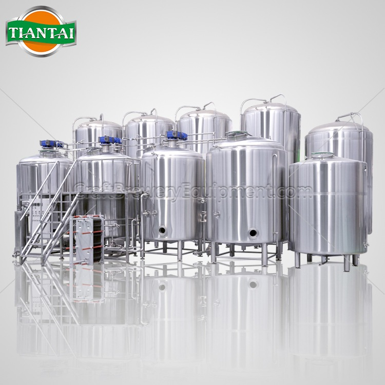 <b>25BBL 4-vessels Brewhouse</b>
