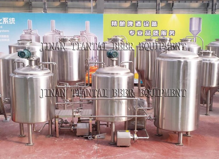 <b>3BBL 2-vessels Brewhouse</b>