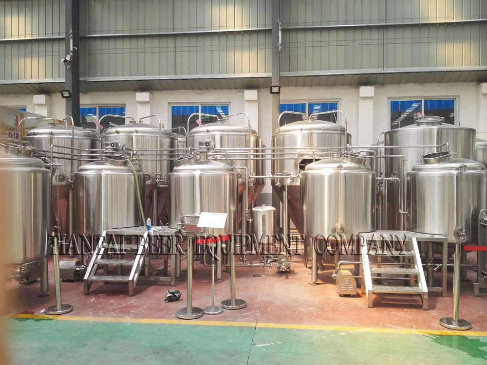 <b>5BBL 4-vessels Brewhouse</b>