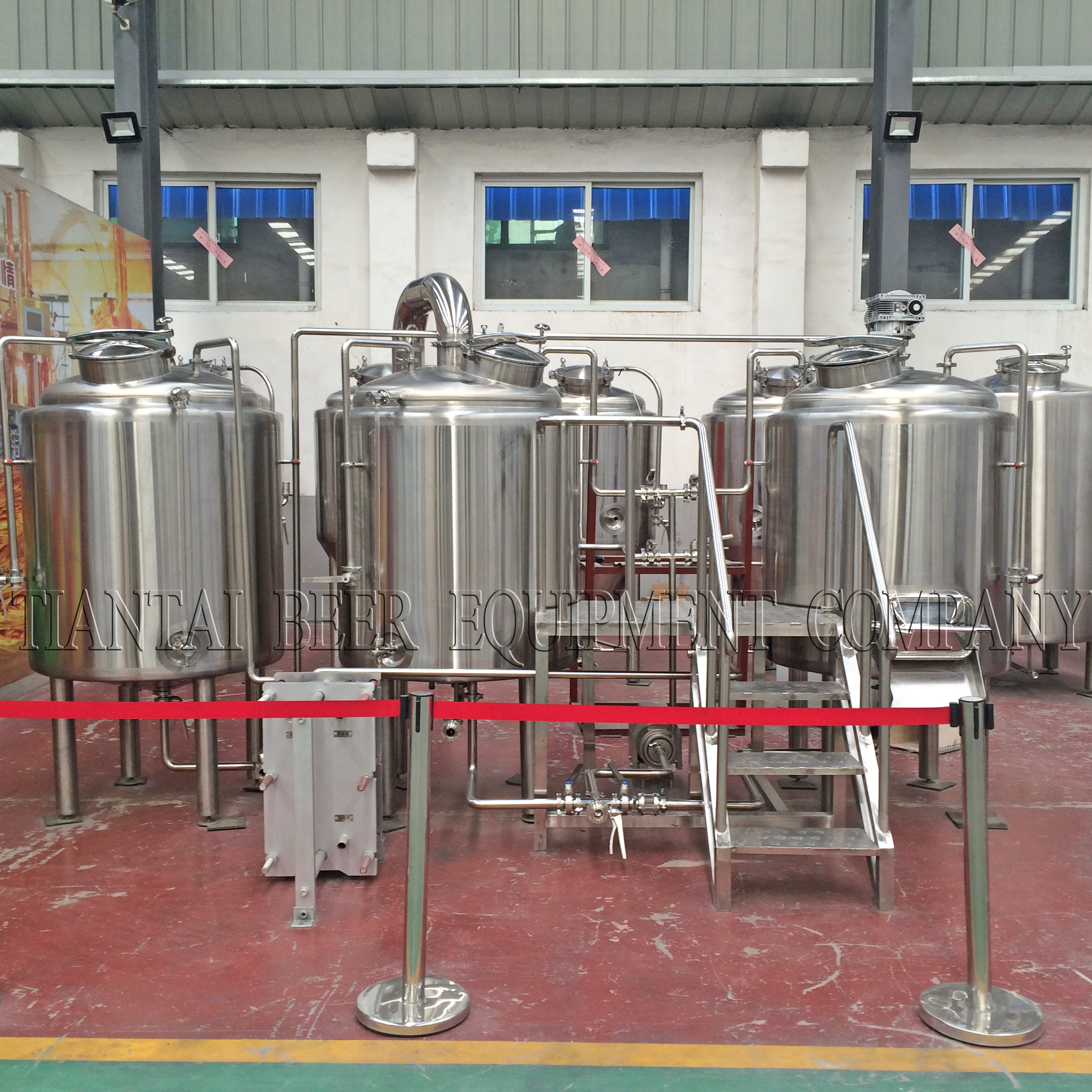 <b>3BBL 4-vessels Brewhouse</b>