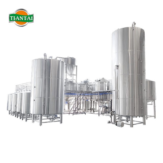 120BBL Industrial Beer Brewing Equipment