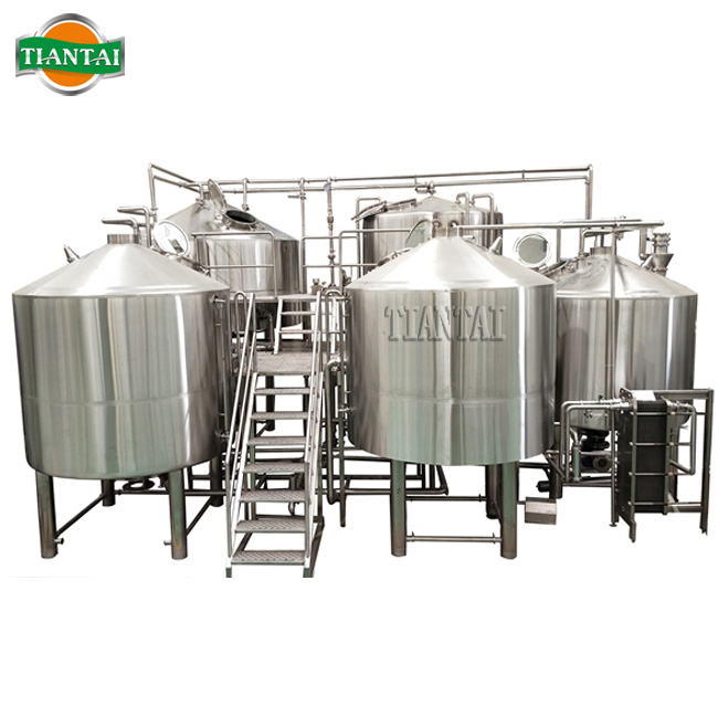 7000L Industrial Beer Brewing Equipment