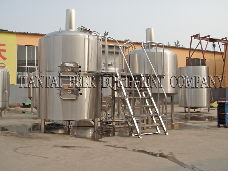 <b>5000L 4-vessels Brewhouse</b>