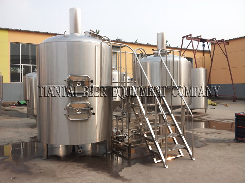 <b>6000L Industrial Beer Brewing Equipment</b>