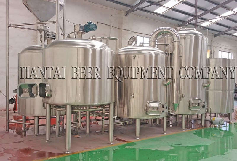 <b>7000L Industrial Beer Brewing Equipment</b>