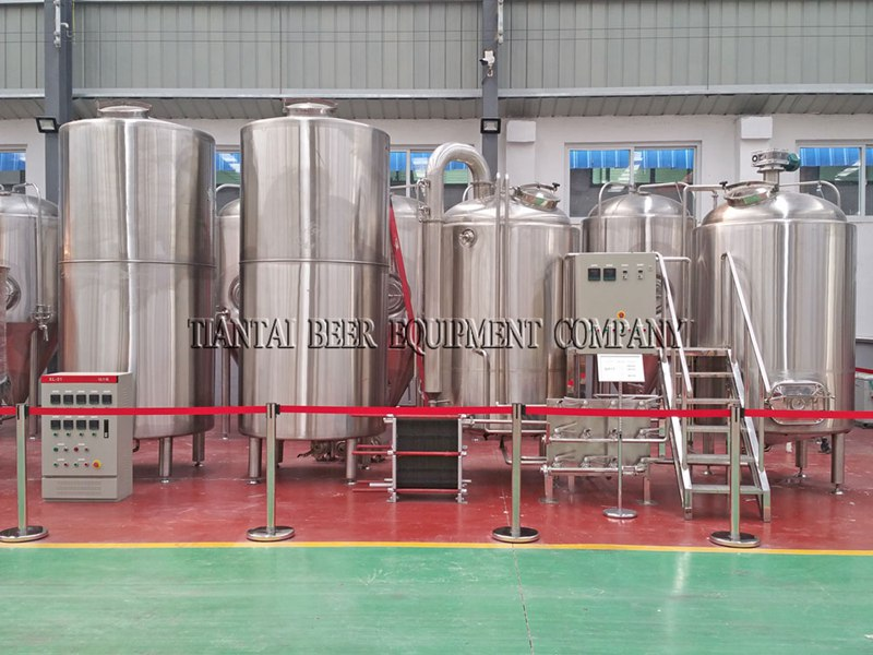 15HL Restaurant Beer Brewing System