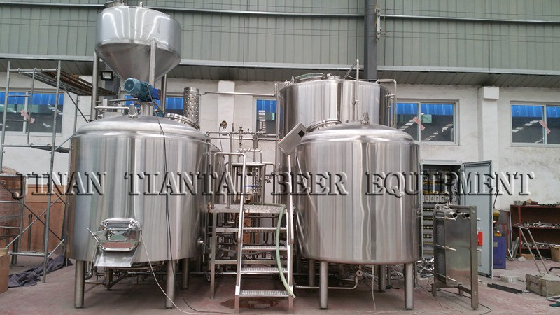 25HL Hotel Craft Beer Brewing Equipment