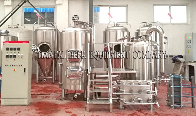 <b>5HL Hotel Craft Beer Brewing Equipment</b>