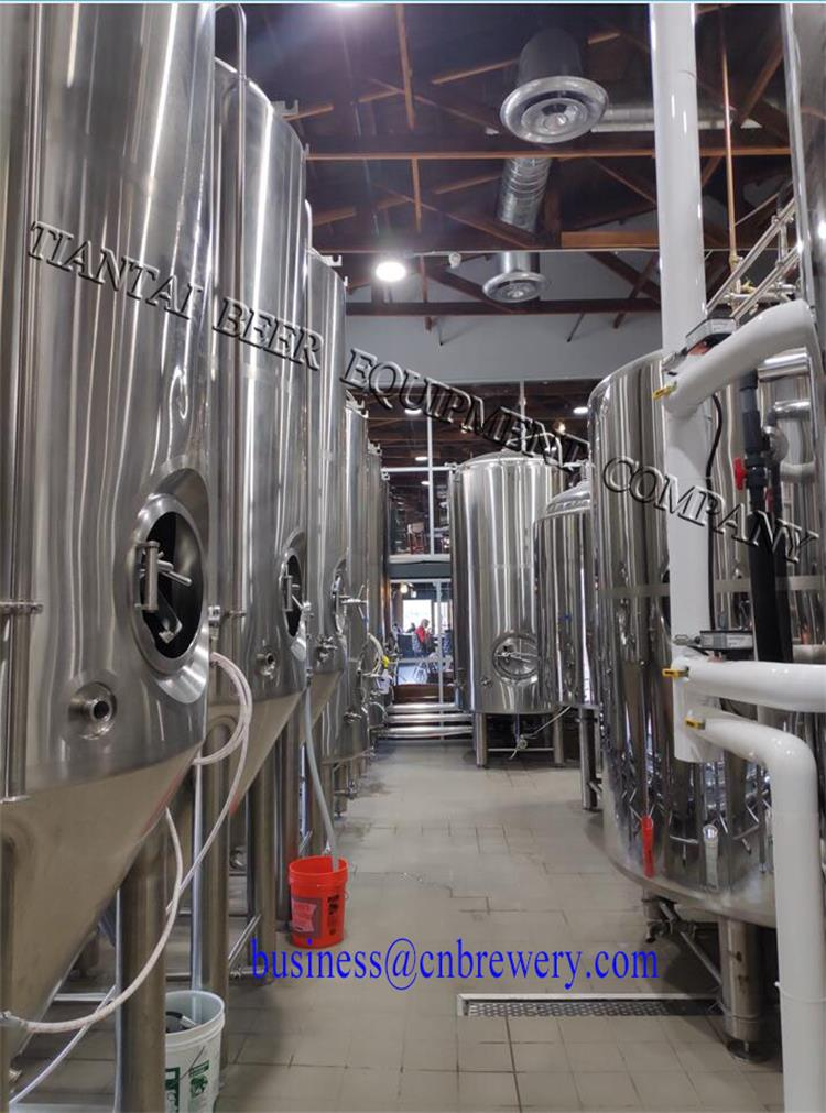 <b>20BBL beer brew system installed successfully in USA microbrewery</b>