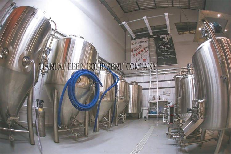 <b>300lts small beer brewing equipment for the brewpub</b>