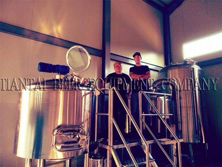 <b>1000L Brewery System Are Installing In Korea</b>