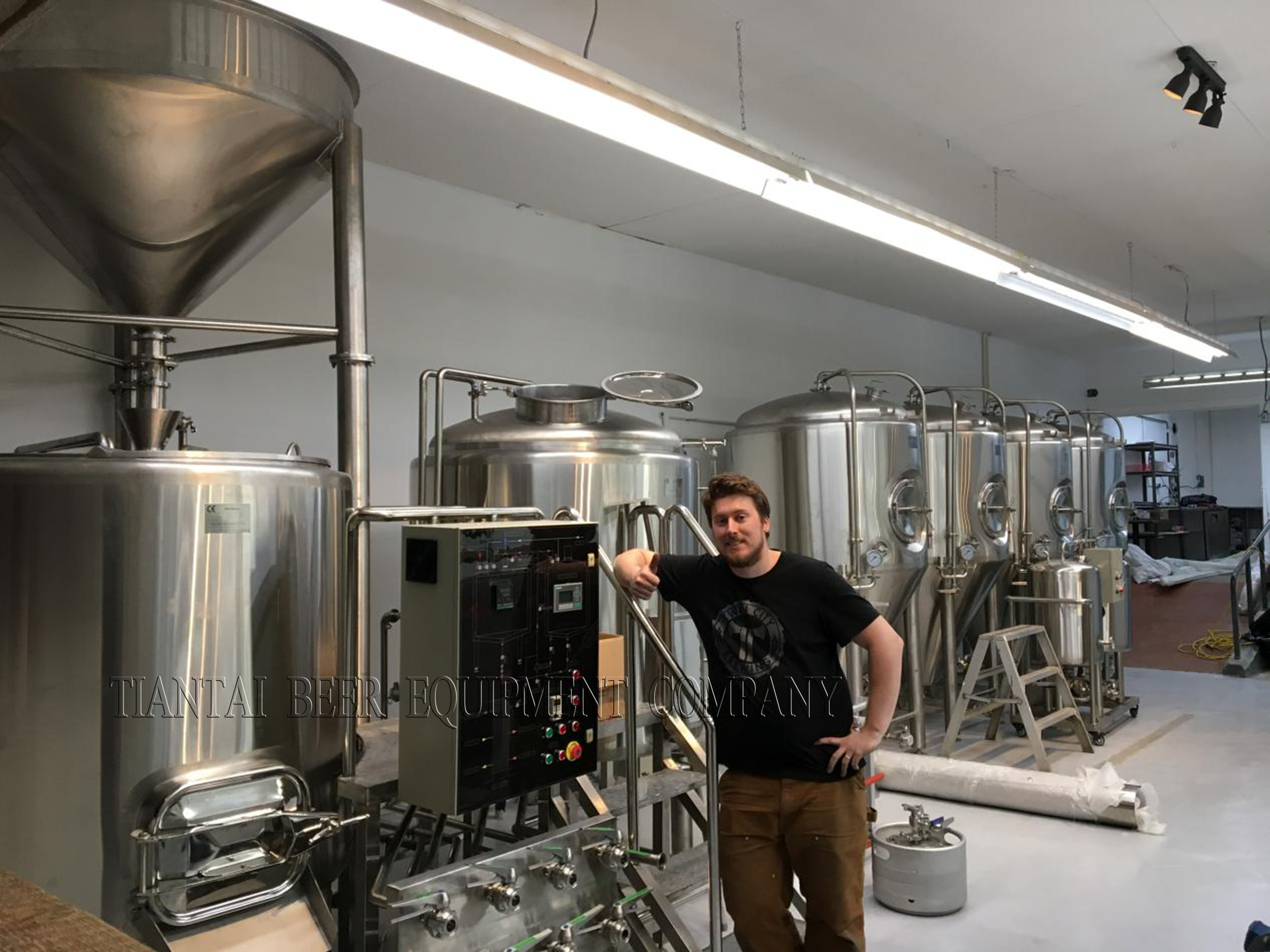 1200L microbrewery equipment