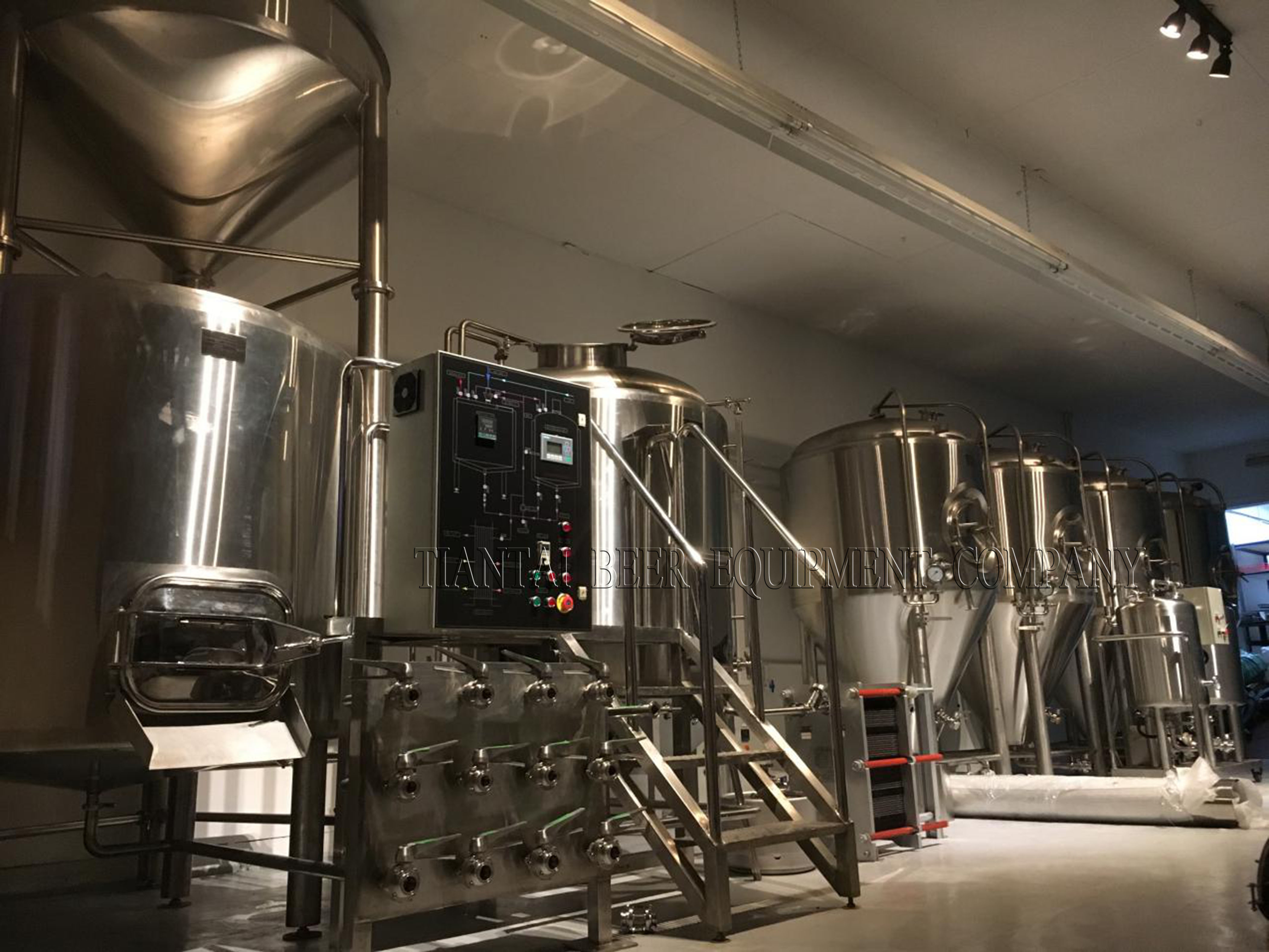 1200L brewery equipment