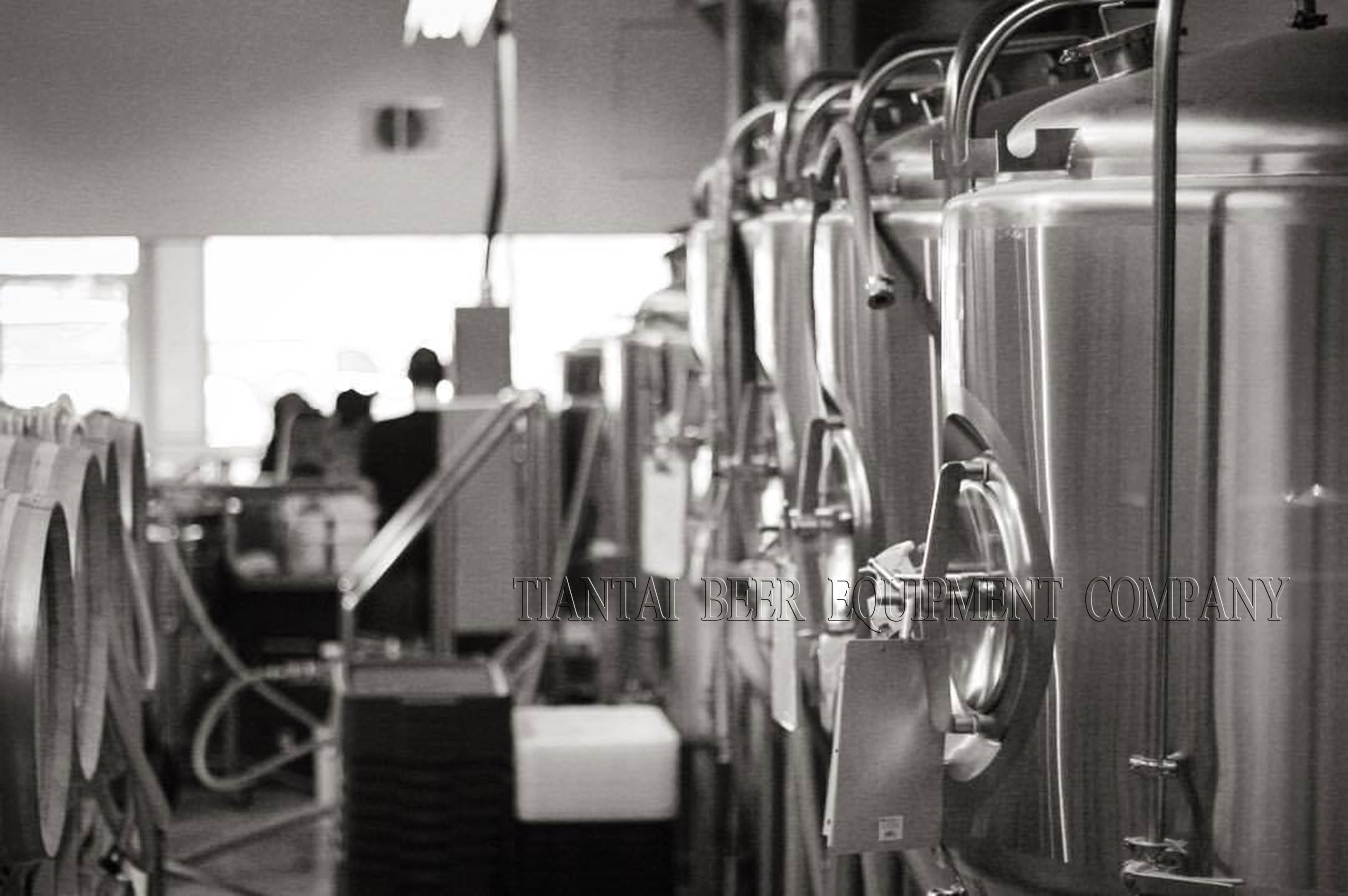brewery equipment installation