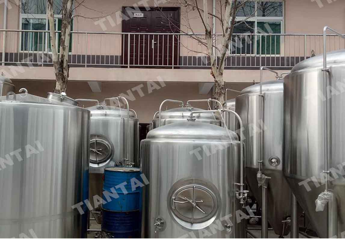 waterman brewing equipment