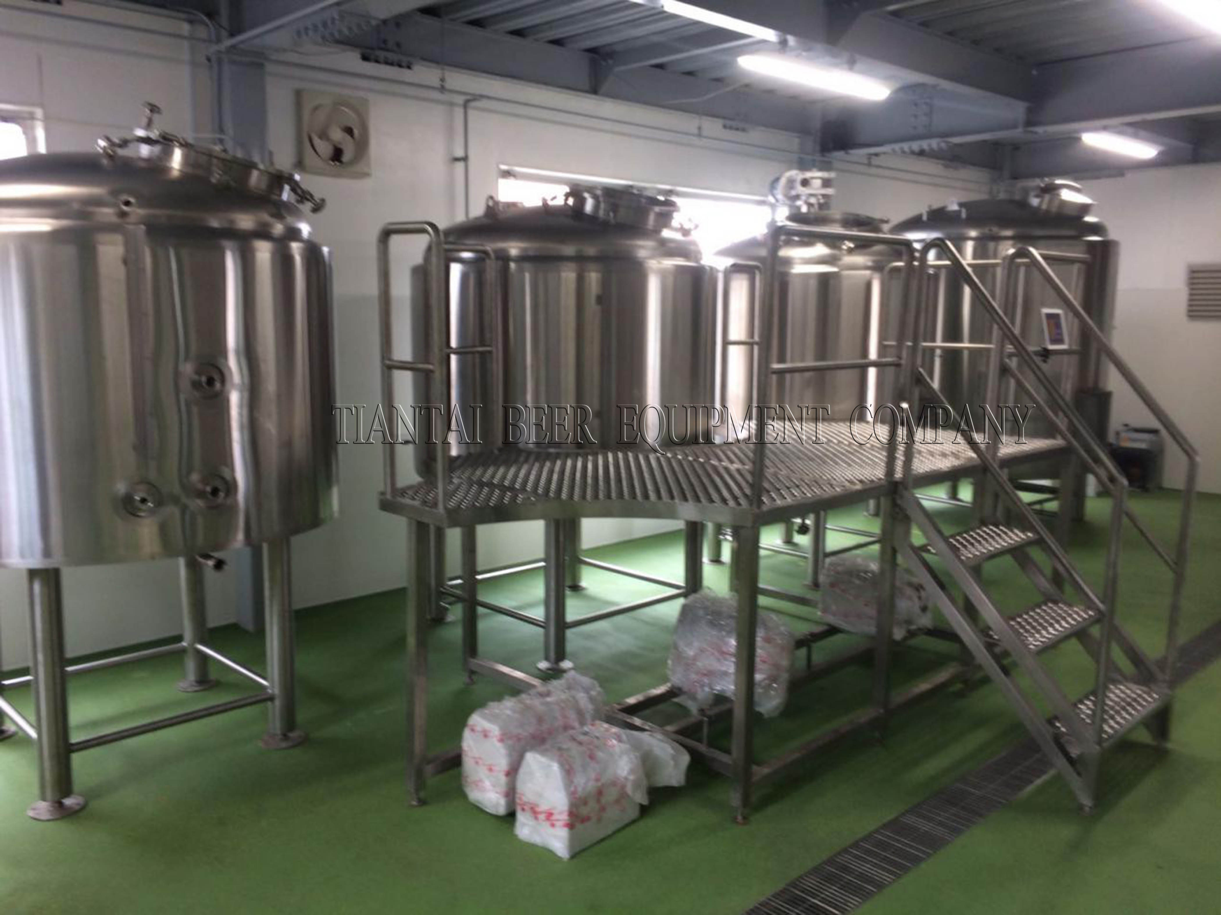 3 vessel brewhouse