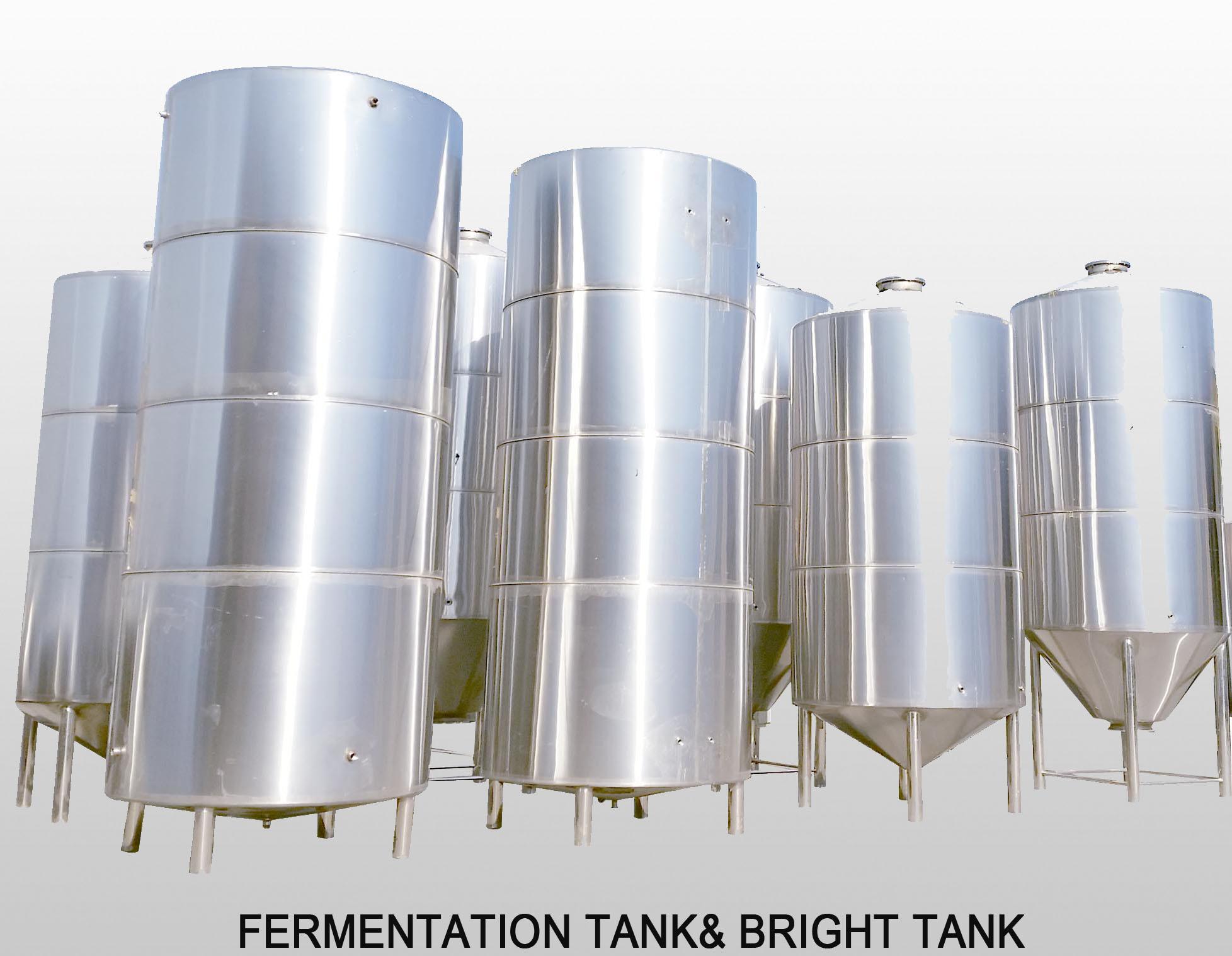 Fermentation Tank& Bright Tank