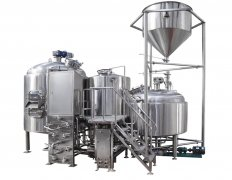<b>Wort cooling  during brewing system</b>