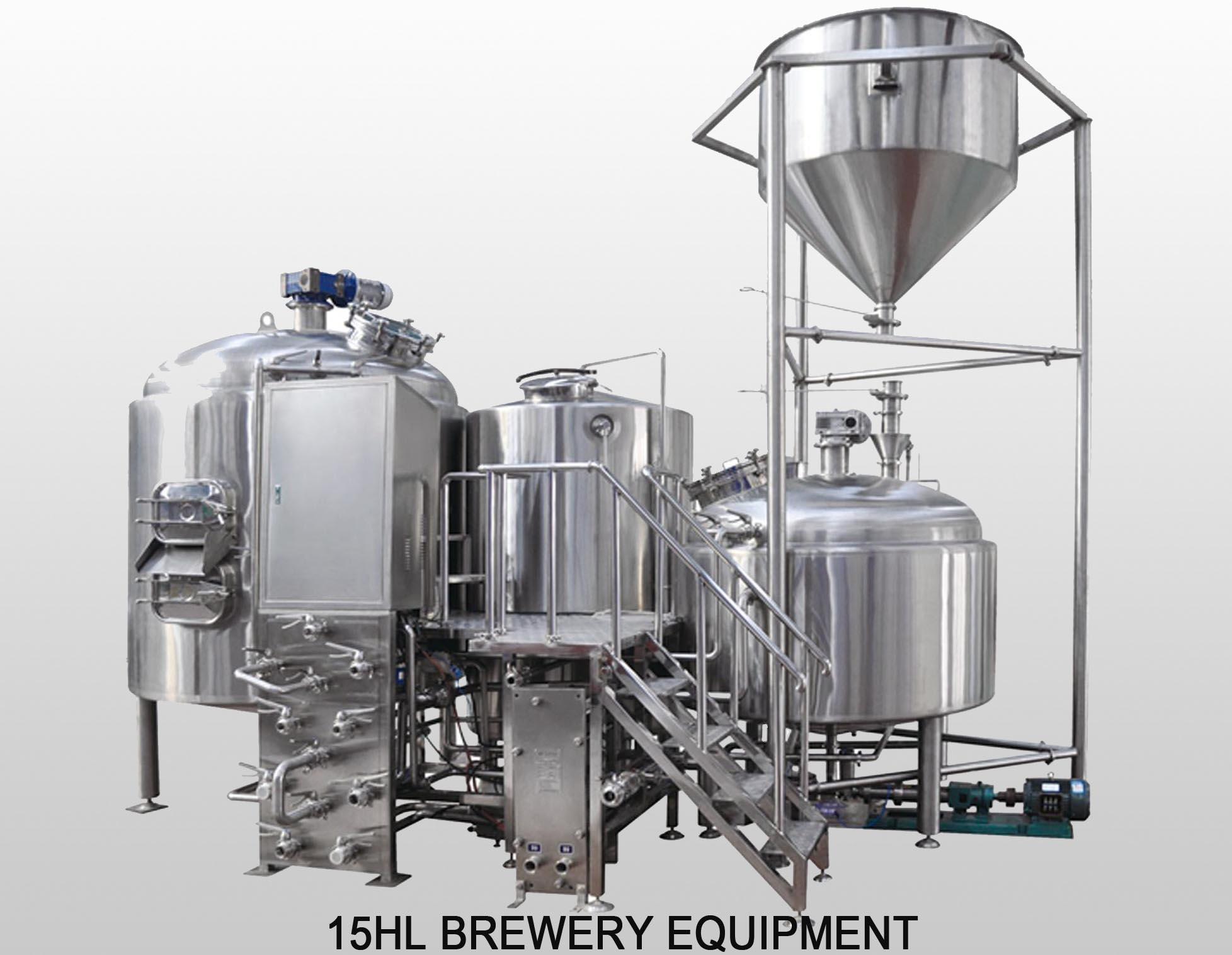 15HL Restaurant Beer Brewing System