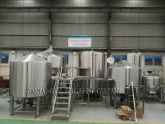 <b>A new design for the 5000L Micro brewing system</b>