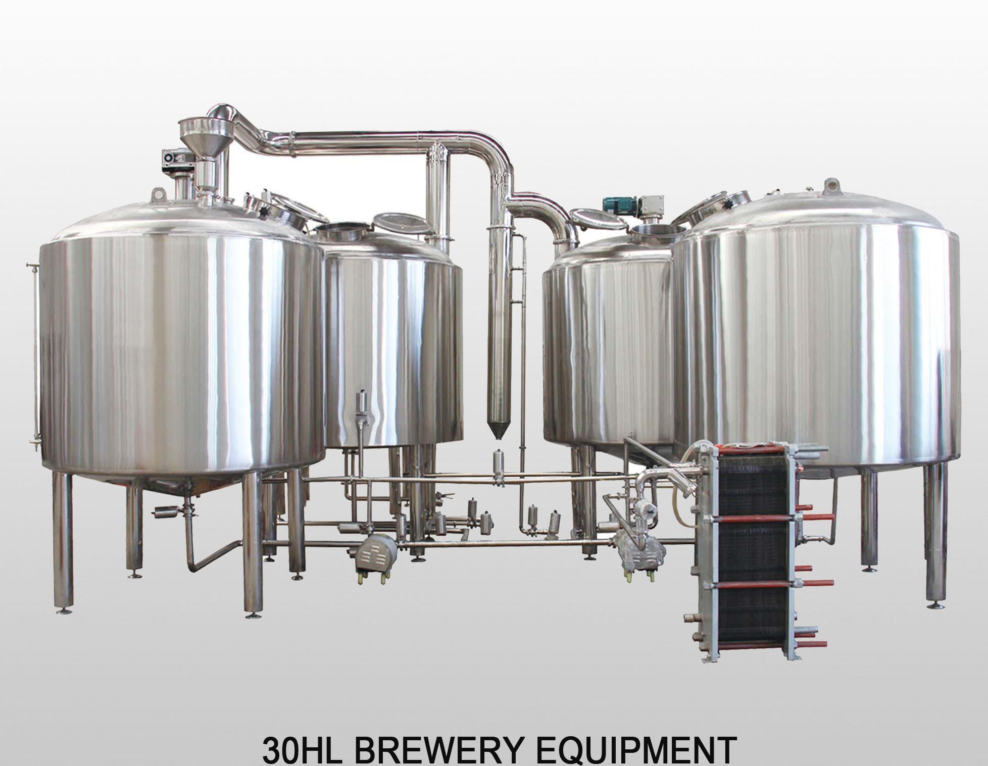 30HL Restaurant Beer Brewing System