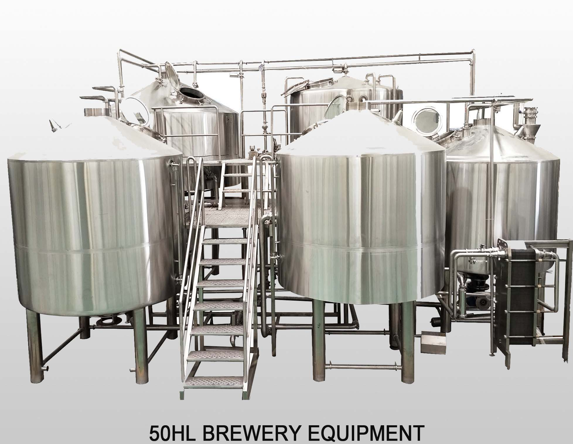 5000L Industrial Beer Brewing Equipment