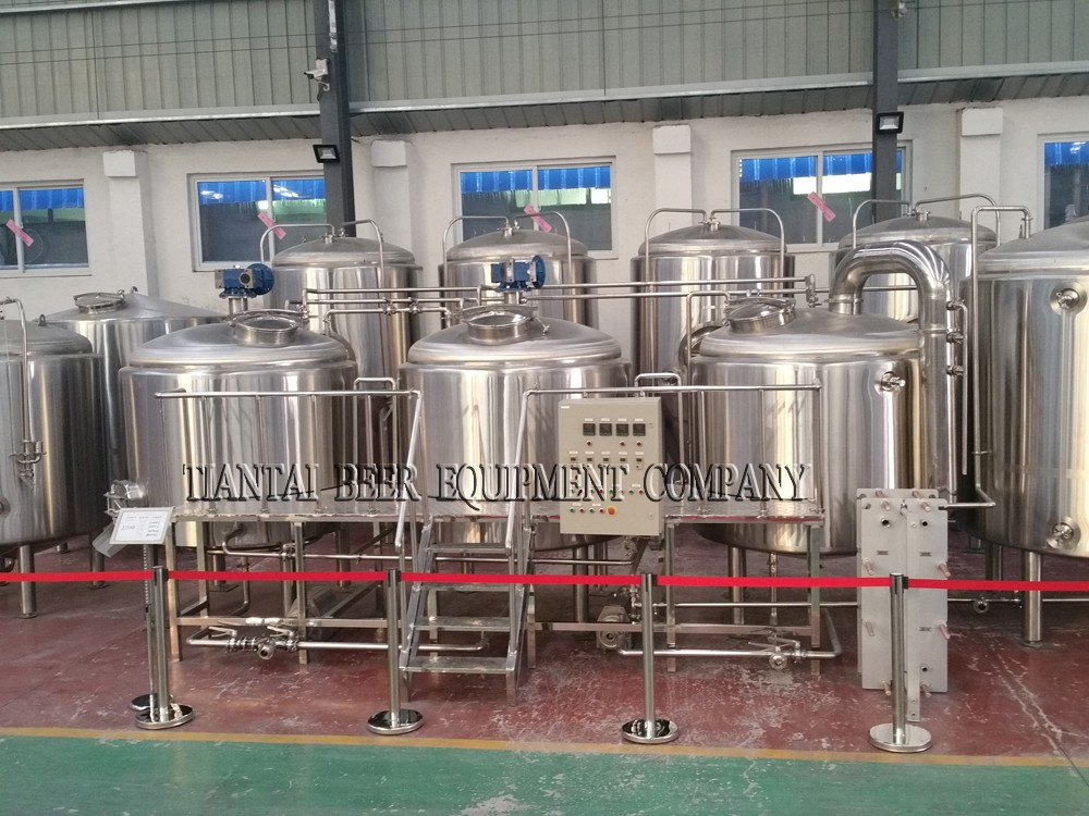 <b>8BBL 3-vessels Brewhouse</b>
