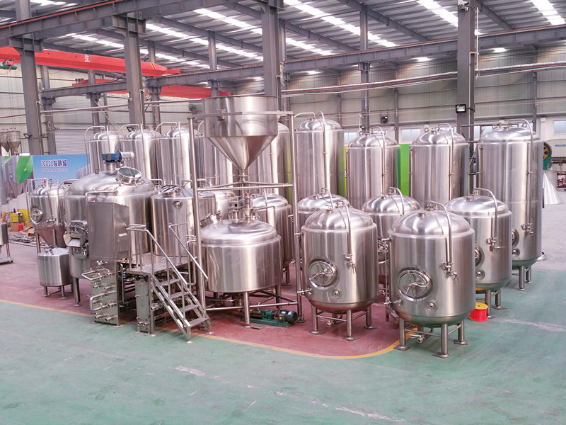 <b>10BBL 3-vessels Brewhouse</b>