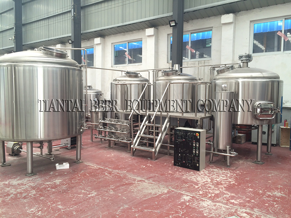 <b>10BBL 4-vessels Brewhouse</b>