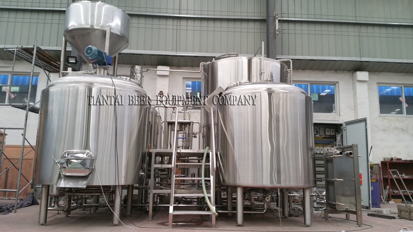 <b>12BBL 4-vessels Brewhouse</b>