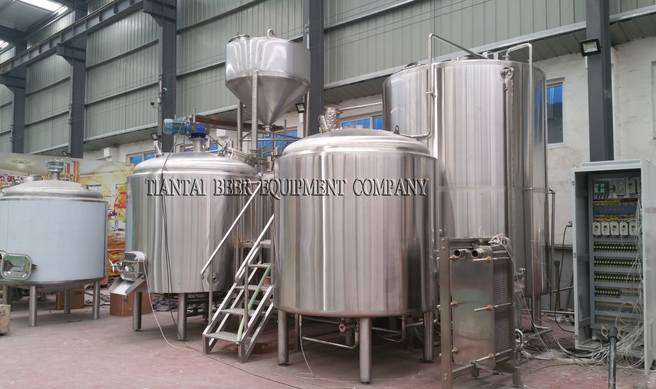 <b>15BBL 4-vessels Brewhouse</b>