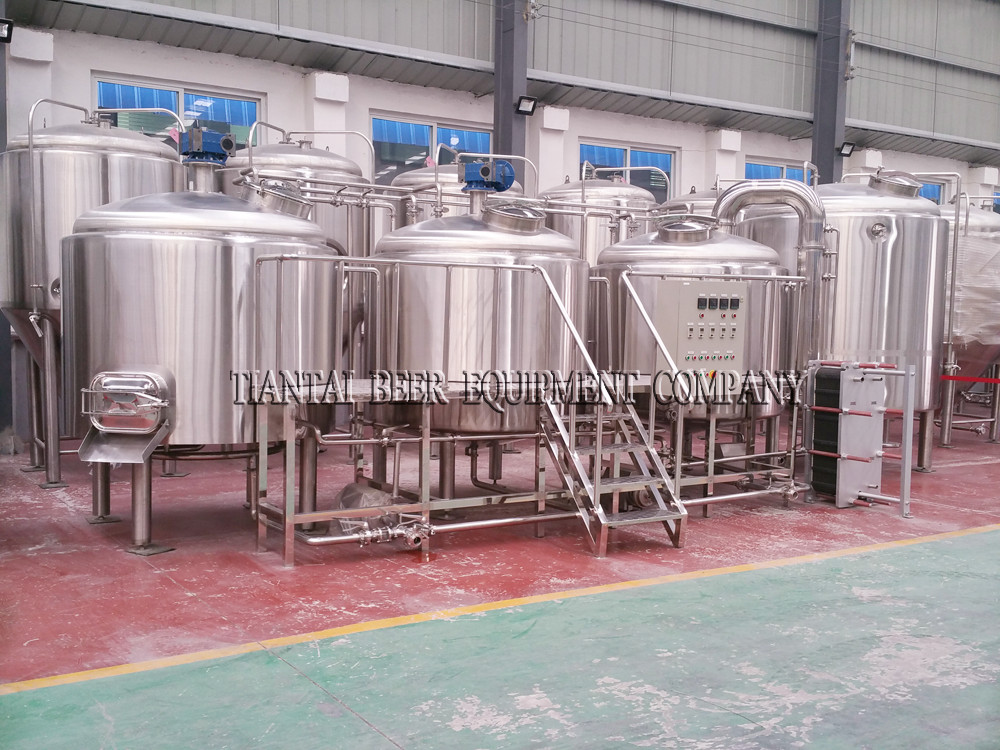 <b>18BBL 3-vessels Brewhouse</b>