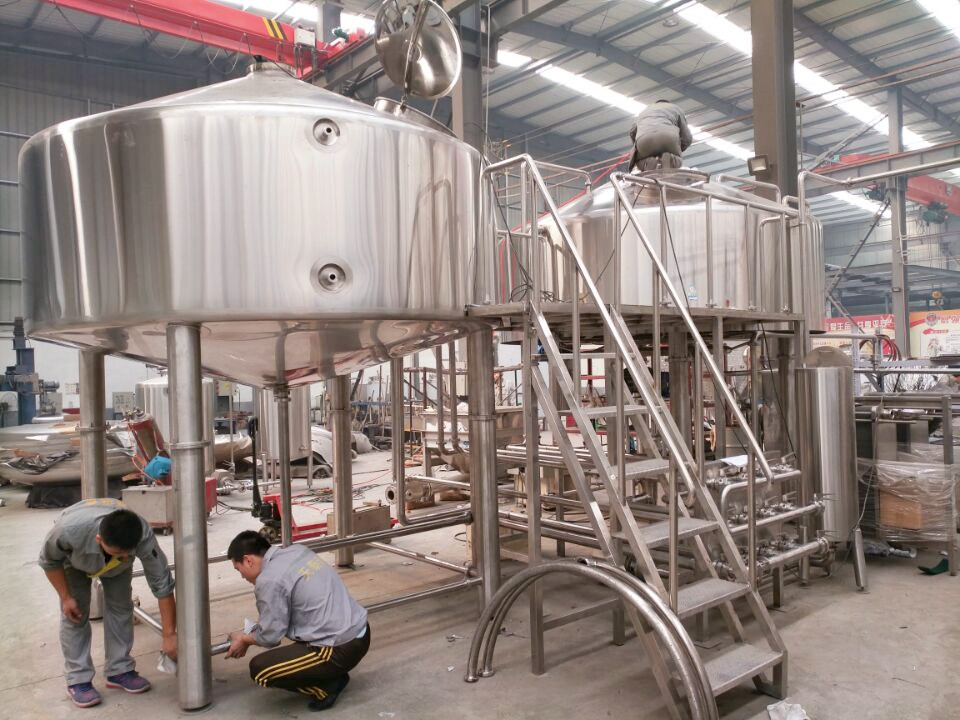 <b>3000L 2-vessels Brewhouse</b>