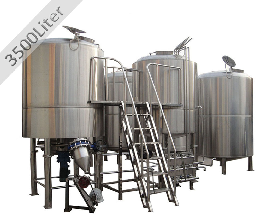 <b>4000L 4-vessels Brewhouse</b>