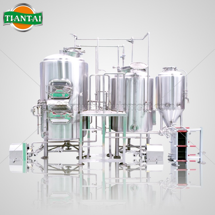 3BBL 4-vessels Brewhouse