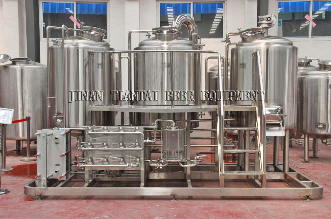 <b>5BBL 3-vessels Brewhouse</b>