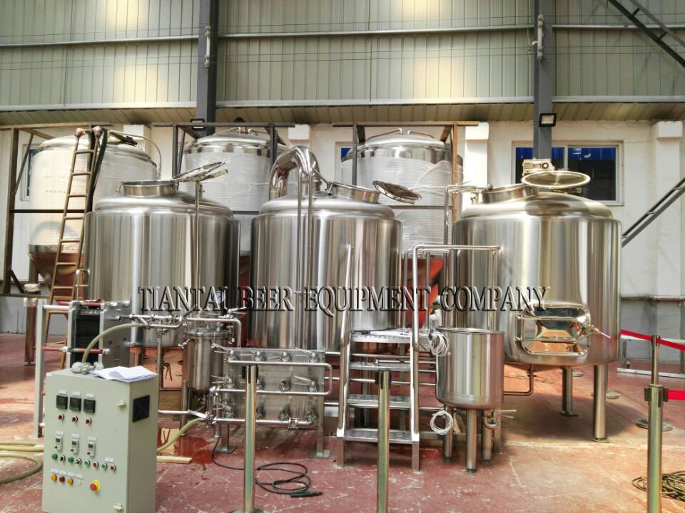 8hl 4 Vessels Brewhouse 4 Vessels Brewhouse Quality
