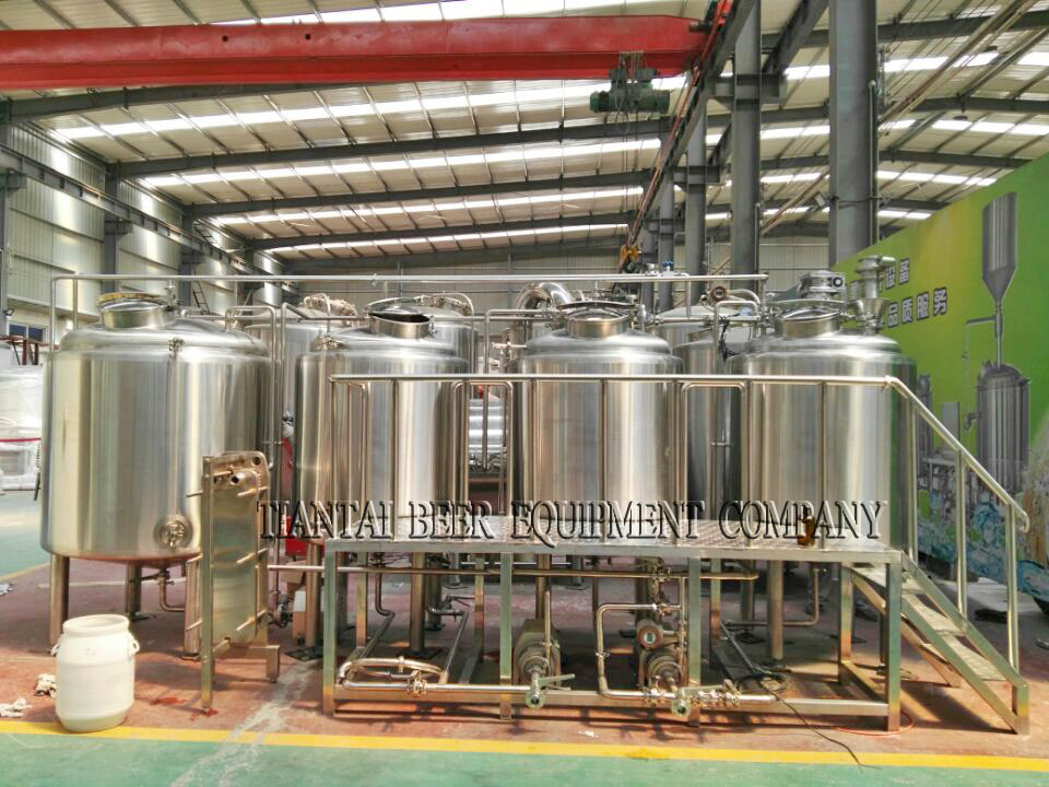 <b>7BBL 3-vessels Brewhouse</b>