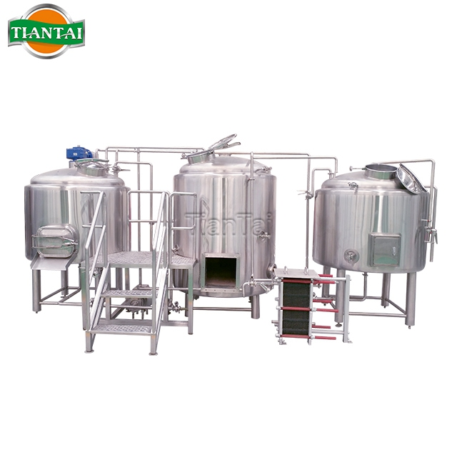 Tiantai Mash Tun Lauter tun Beer Brewhouse Equipment