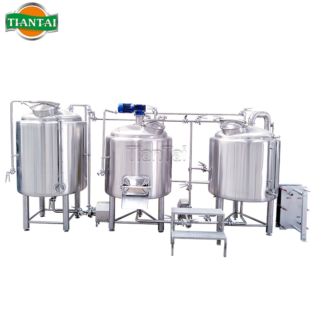 Tiantai bar brewpub mini nano 5 bbl brewhouse