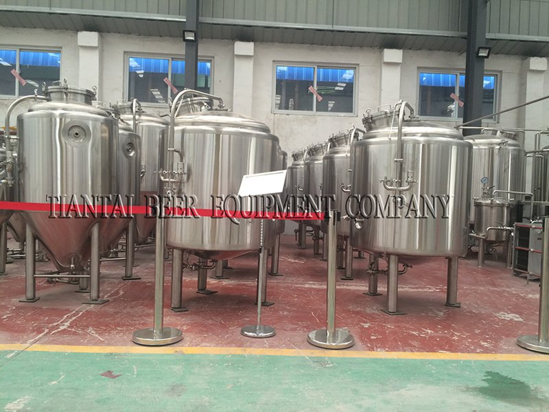 <b>600L Nano jacketed Brite Beer Tank</b>