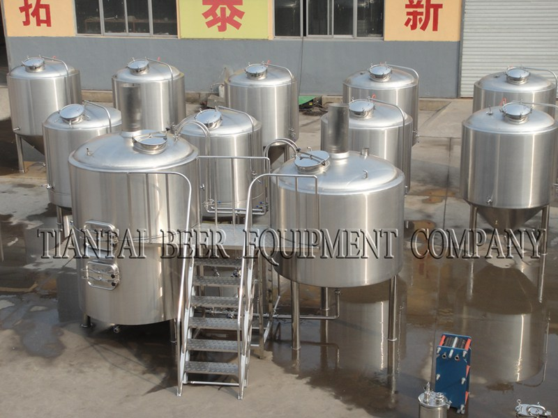 <b>7000L Commercial Beer Making Equipment</b>