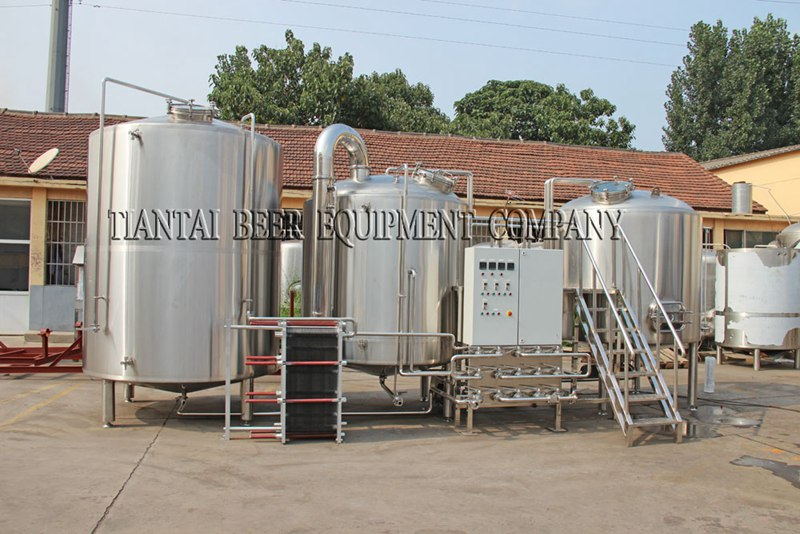 <b>7000L Modern Brewery Equipment</b>