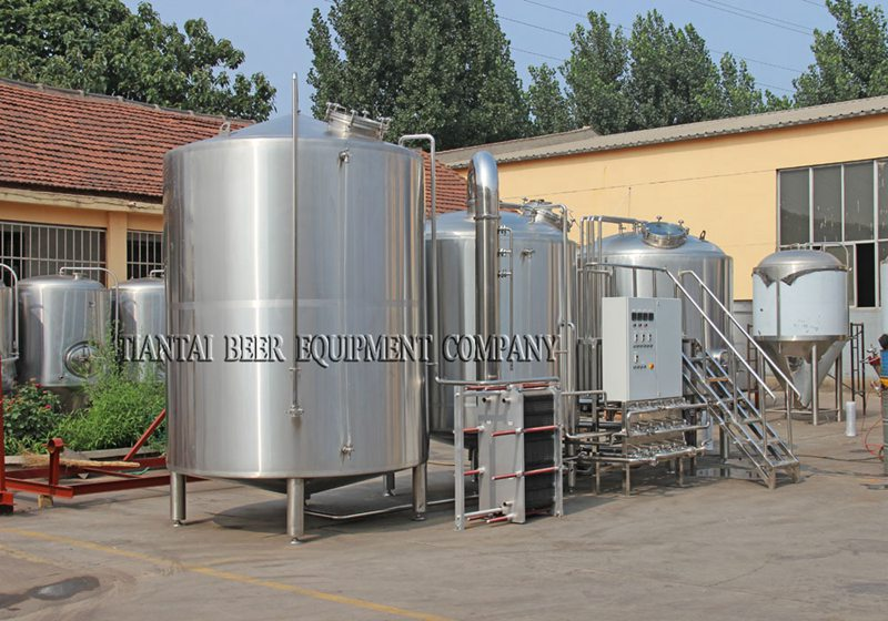 <b>40BBL Modern Brewery Equipment</b>