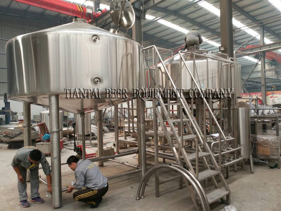 <b>150HL Commercial Beer Making Equipment</b>